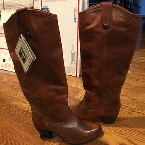 Frye women's boots cognac 9.5 medium